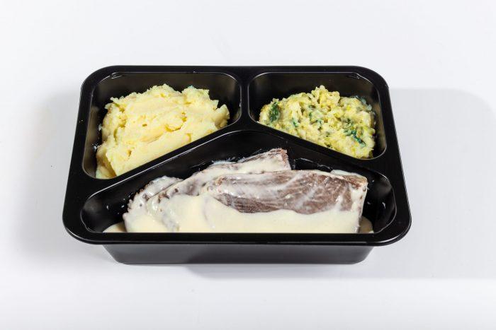 Tafelspitz vom Rind in Meerrettichsauce mit Rahmwirsing und Kartoffelstampf