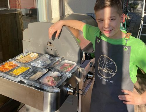Kinderleichtes Grillen mit dem Grillmenü